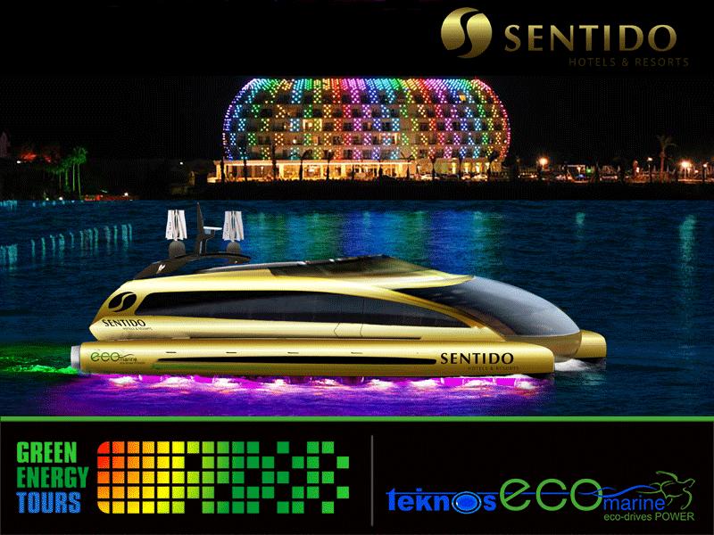 Elektrikli tekne, Solar enerjili katamaran tekne, Tekne tasarımı ve modellemesi. Tasarımlar Nadir Dülgeroğlu & Mehmet Taşanyürek