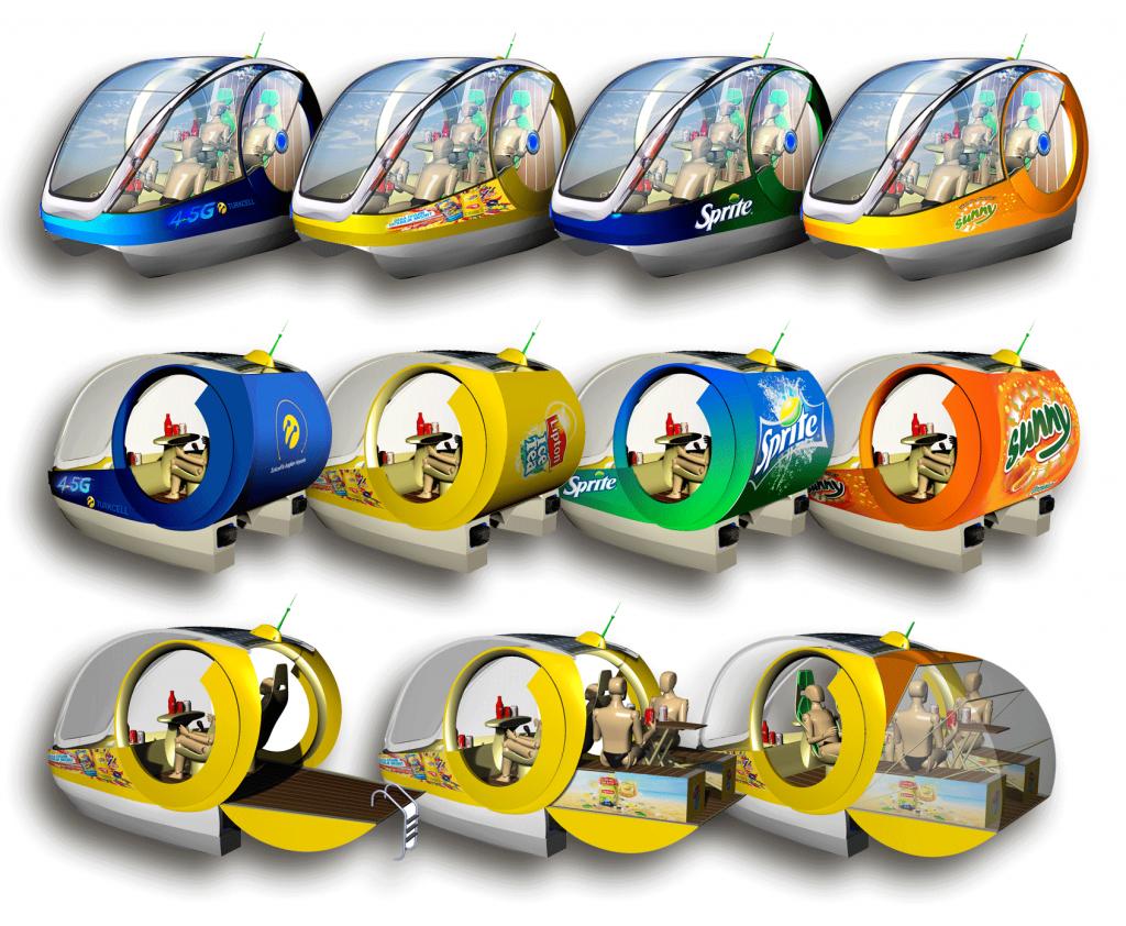 Tekne üzeri reklam, outdoor reklam, reklam trend, elektrikli pedal boat, reklam mecra